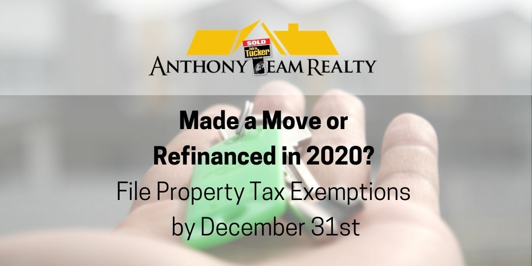 Indianapolis Area Property Tax Exemption Information